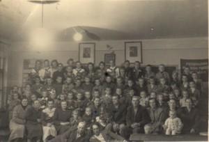 Zakończenie roku szkolnego 1955/56.