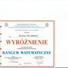 Konkurs Matematyczny Kangur – rozstrzygnięty